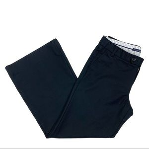 GAP Black Stretch Wide Leg Ankle Pants Size 8